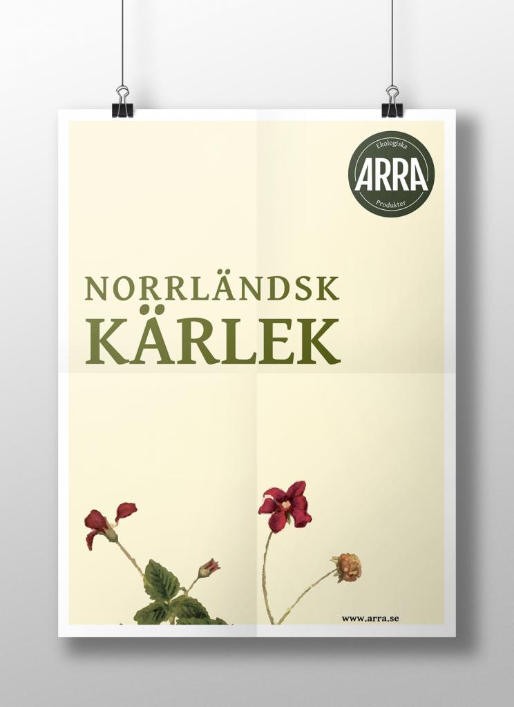 Poster Norrländsk kärlek
