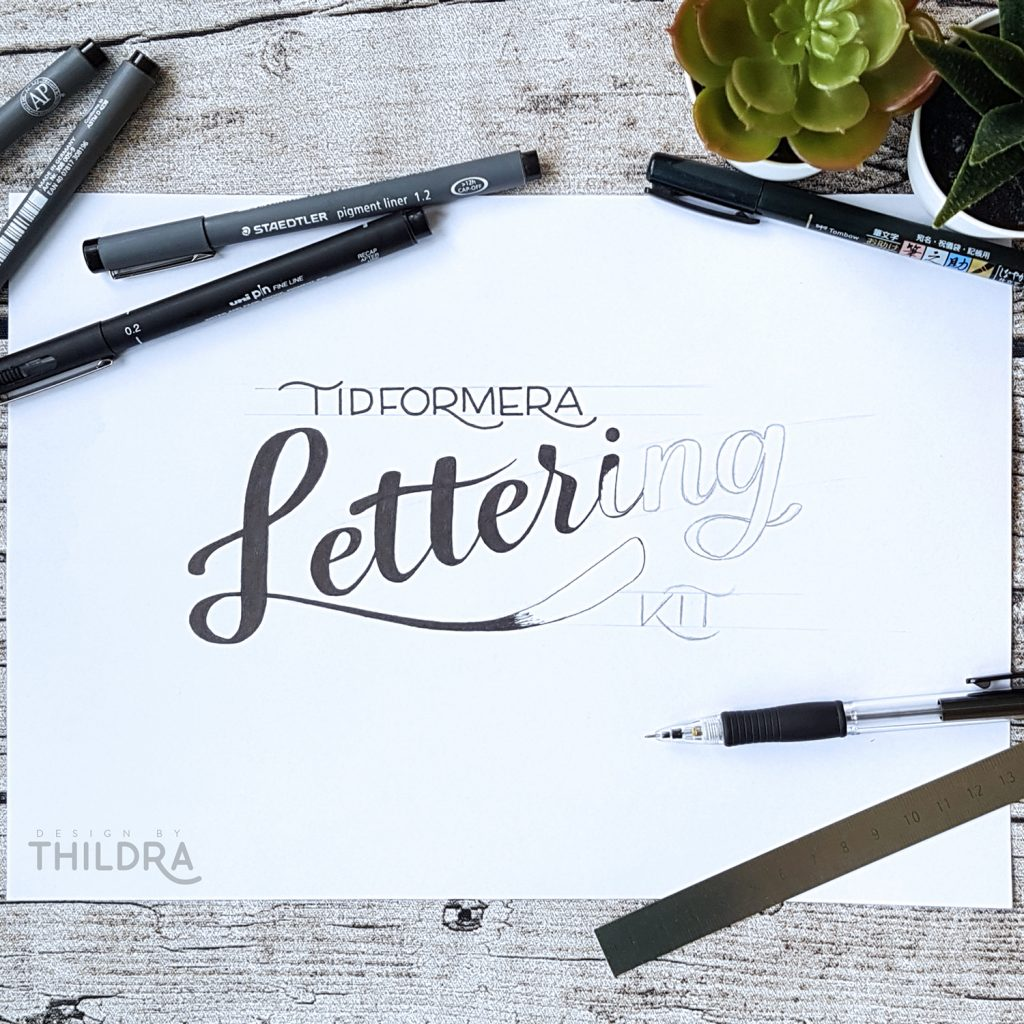 Lettering-text