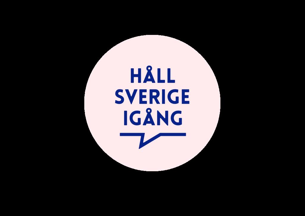 Logotyp Håll Sverige igång